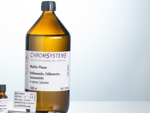 21001 HPLC mobile phase rufinamide felbamate lacosamide serum plasma