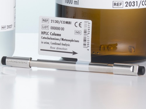 2130-COMBI HPLC column metanephrines catecholamines urine combined analysis
