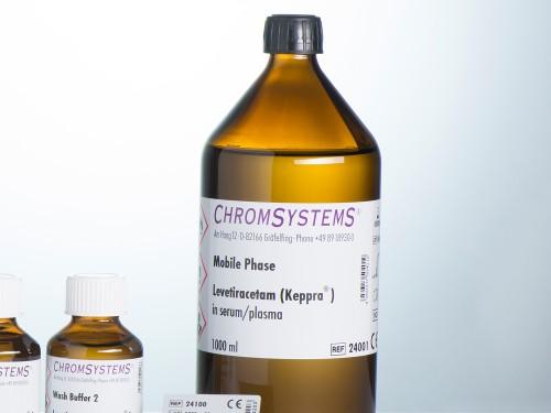 24001 HPLC mobile phase levetiracetam serum plasma