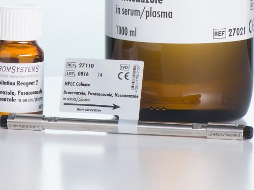 27110 HPLC column itraconazole posaconazole voriconazole serum plasma