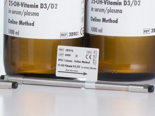 38910 HPLC column vitamin D3 vitamin D2 serum plasma