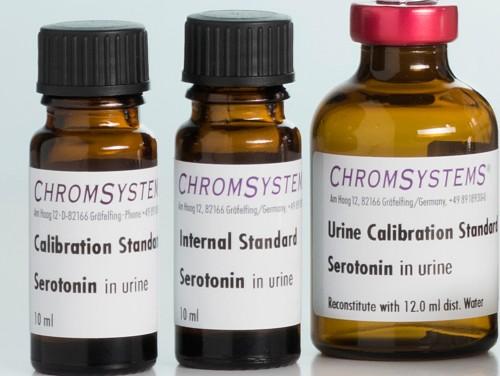 4004 HPLC internal standard serotonin urine