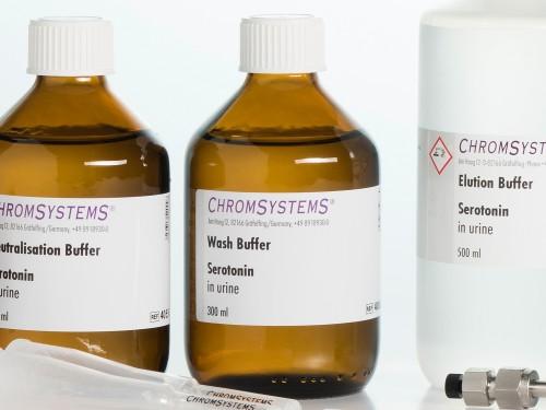 4006 HPLC wash buffer serotonin urine