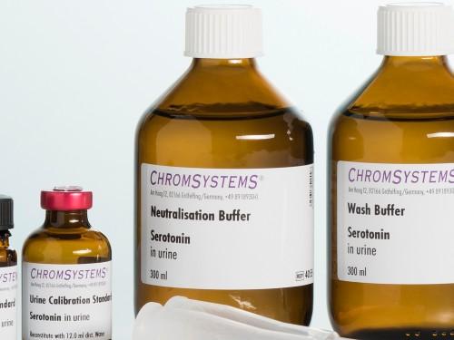4055 HPLC neutralisation buffer serotonin urine