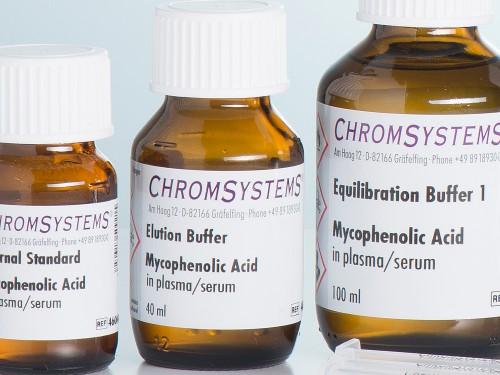 46009 HPLC elution buffer mycophenolic acid plasma serum