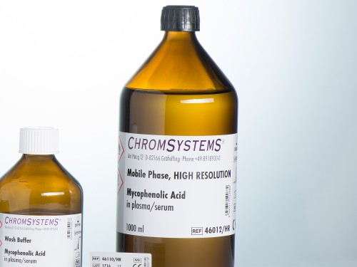 46012-HR HPLC mobile phase mycophenolic acid plasma serum