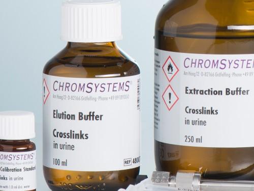 48007 HPLC elution buffer crosslinks urine