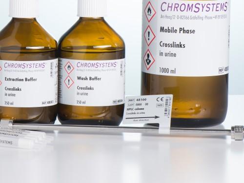 48100 HPLC column crosslinks urine