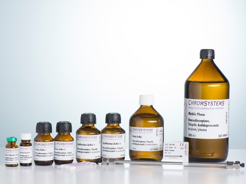 49000 HPLC kit benzodiazepines TCA clozapine serum plasma