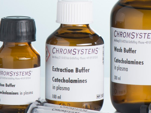 5011 HPLC extraction buffer catecholamines plasma