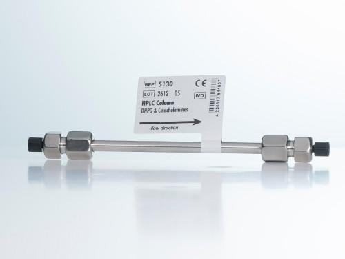 5130 HPLC column L-DOPA DHPG DOPAC