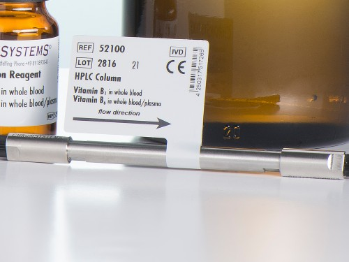 52100 HPLC column vitamin B1 vitamin B6 whole blood plasma