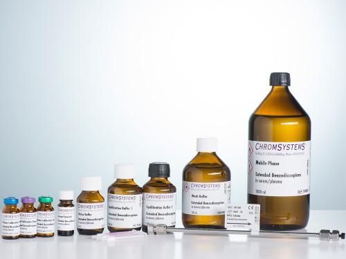 59000 HPLC kit extended benzodiazepines serum plasma