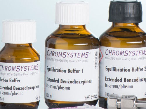 59005 HPLC equilibration buffer 1 extended benzodiazepines serum plasma
