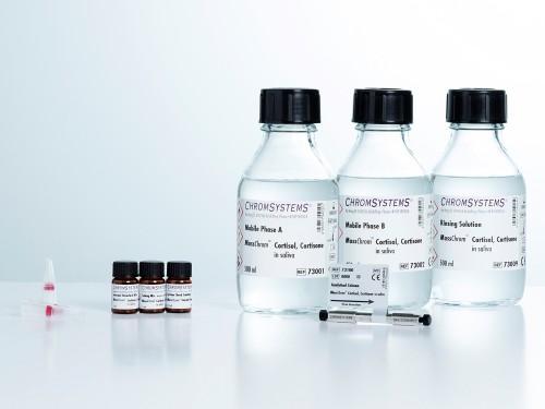 MassChrom® Cortisol, Cortisone in Saliva - LC-MS/MS