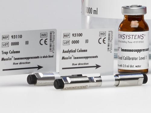 93100 LCMS analytical column immunosuppressants whole blood