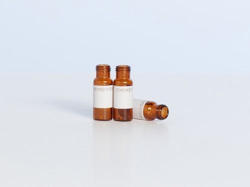 J0601 Autosampler Vials - amber glass