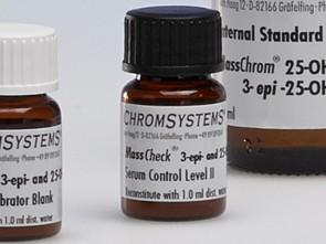 MassCheck® 3-epi-25-OH-Vitamin D3/D2 and 25-OH-Vitamin D3/D2 Serum Controls