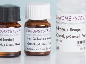 41003 HPLC urine calibration standard o-cresol p-cresol phenol