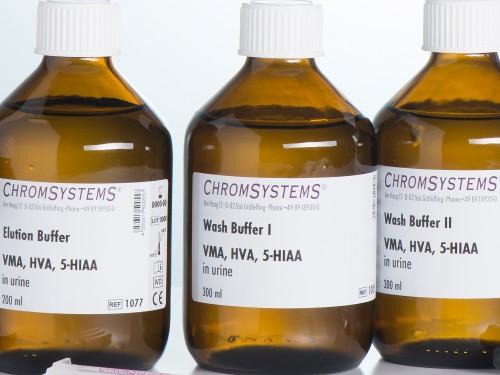 1005 HPLC wash buffer 1 VMA HVA 5-HIAA urine