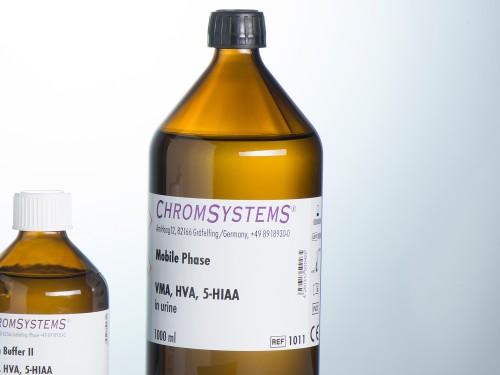 1011 HPLC mobile phase VMA HVA 5-HIAA urine