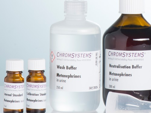2026 HPLC wash buffer metanephrines urine