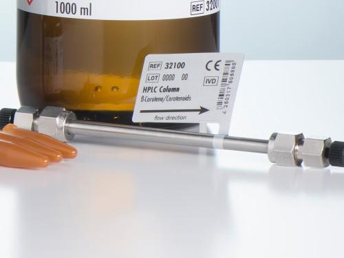 32100 HPLC column ß-carotene serum plasma