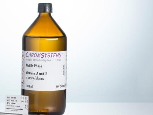 34001 HPLC vitamin A vitamin E serum plasma mobile phase