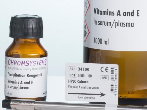 34003 vitamin A vitamin E serum plasma precipitation reagent