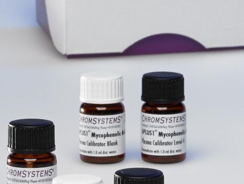 6PLUS1® Multilevel Plasma Calibrator Set Mycophenolic Acid/Glucuronide