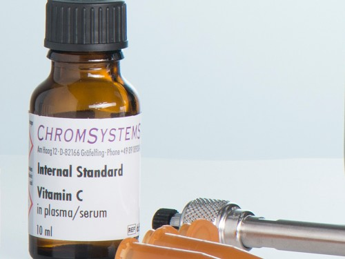 65044 HPLC internal standard vitamin C plasma serum