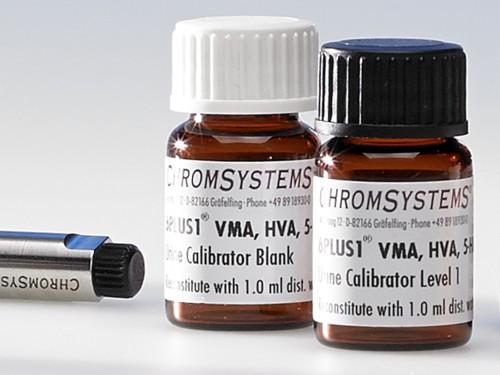 6PLUS1® Multilevel Urine Calibrator Set VMA, HVA, 5-HIAA